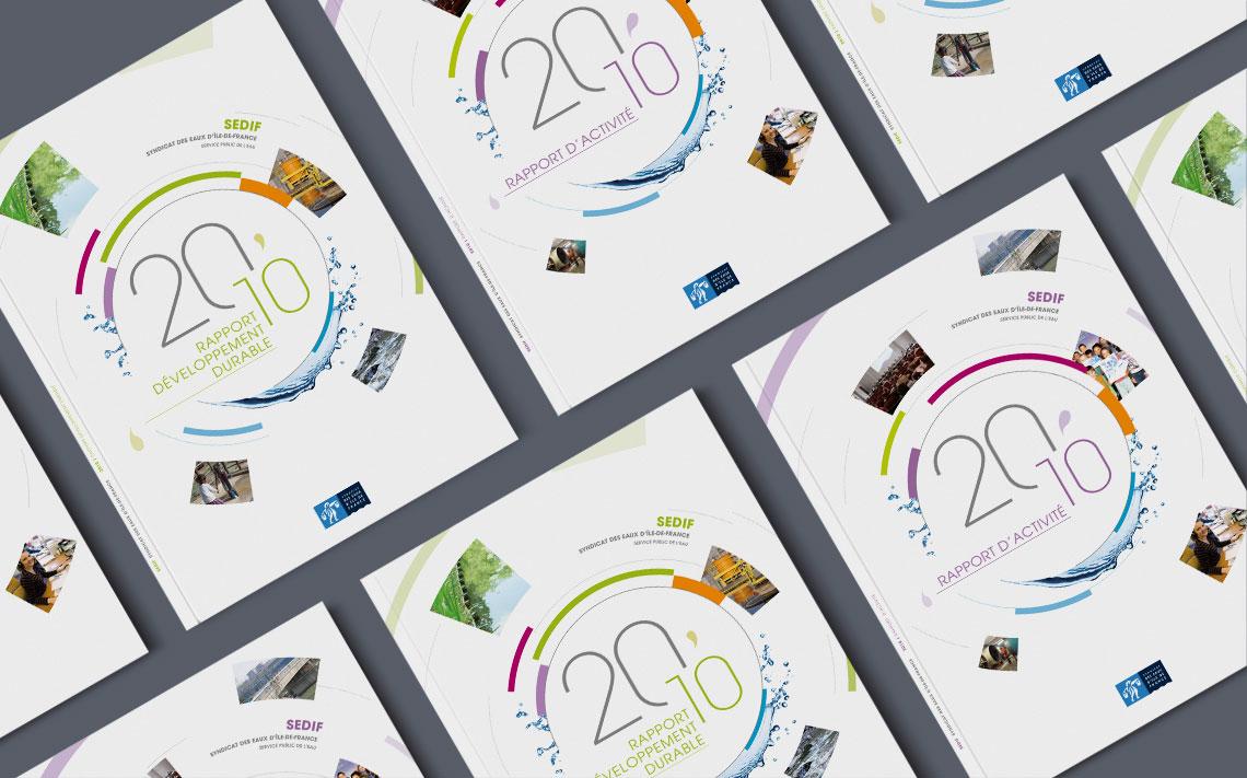 SEDIF rapport annuel, rapport d'activite, rapport developpement durable 1