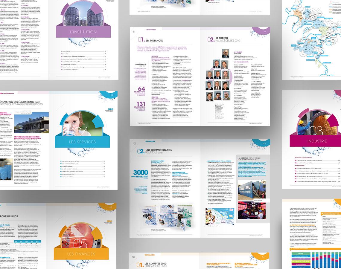 SEDIF rapport annuel, rapport d'activite, rapport developpement durable 3