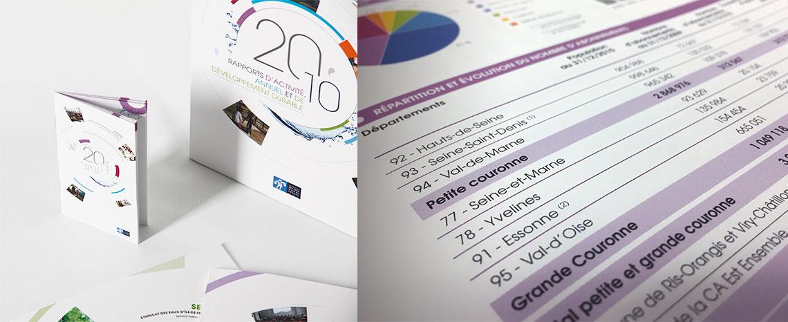 SEDIF rapport annuel, rapport d'activite, rapport developpement durable 5