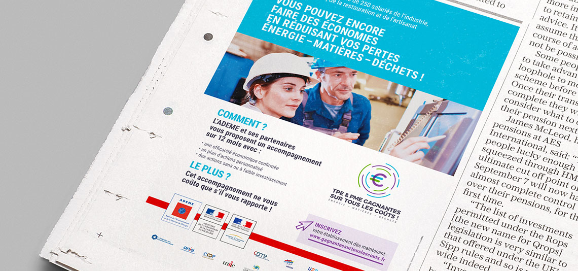 Campagne de communication Ademe 05