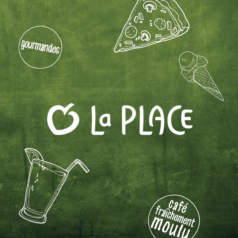 Logo Venez, il y a de La Place !