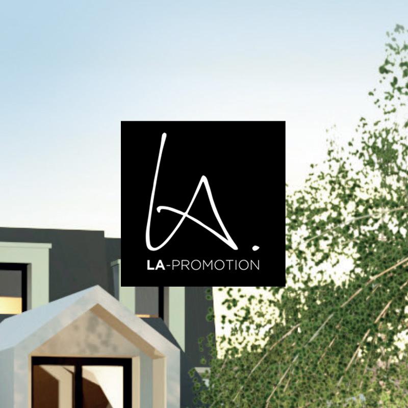 Logo Bienvenue chez LA-Promotion, bienvenue chez vous !