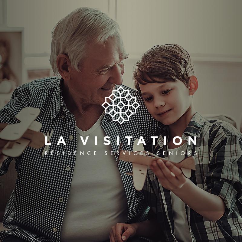 Logo Quand La Visitation se fait accueillante pour les seniors