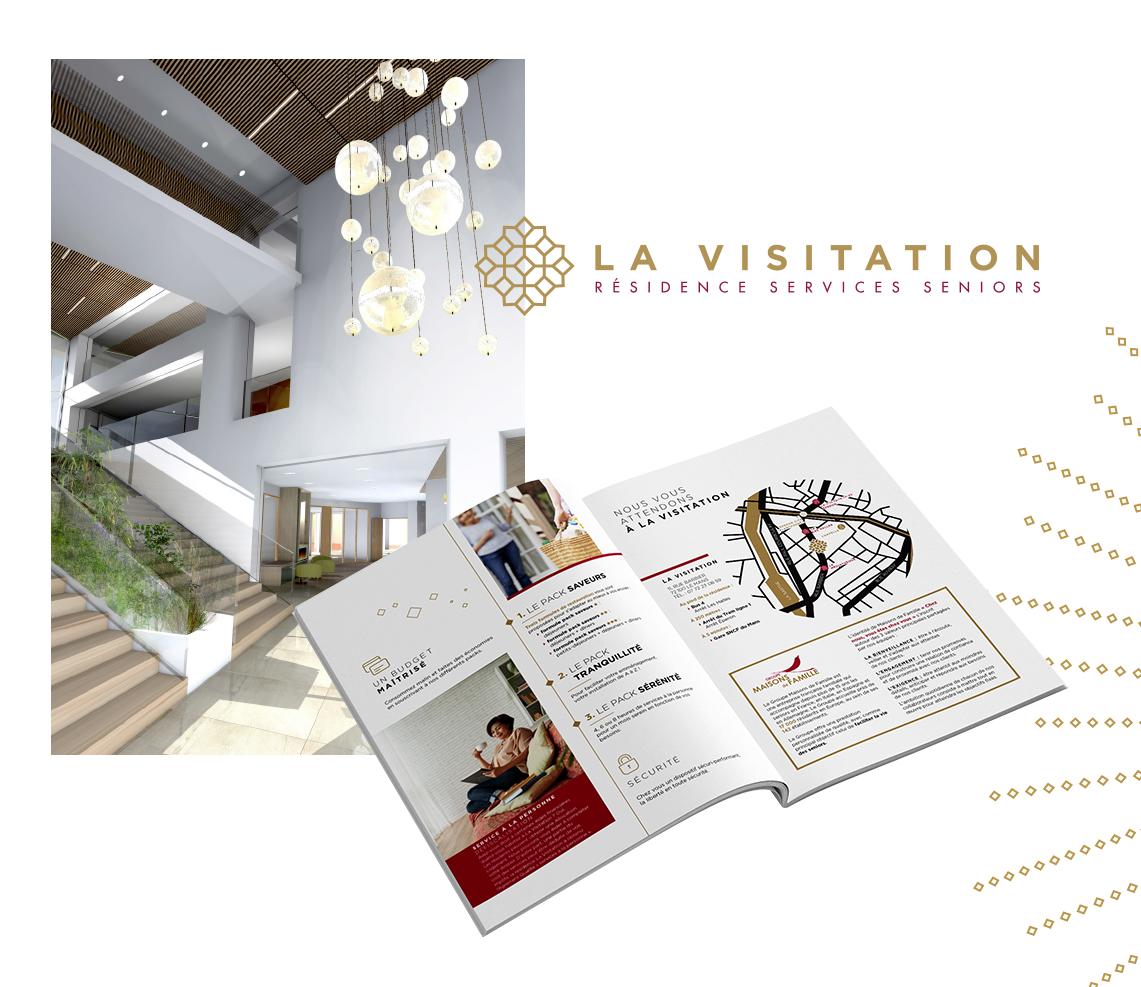 MAISONS DE FAMILLE LA VISITATION PLAQUETTE